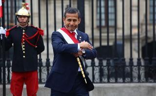 ¿Extrañar a Humala? La percepción al final de su mandato