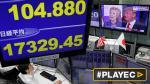 Mercados en Asia y Dow Jones se desploman por temor a Trump - Noticias de brent monahan