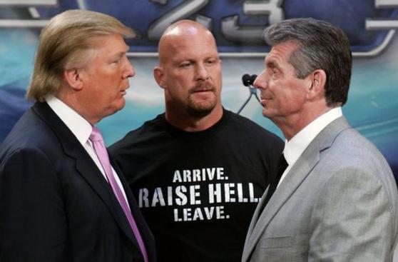 WrestleMania: el día que Donald Trump 'rapó' a Vince McMahon