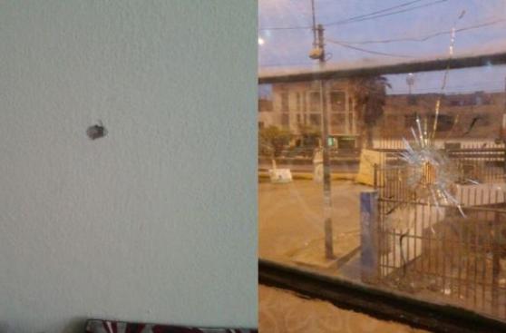 Bala perdida impactó en vivienda de San Martín de Porres