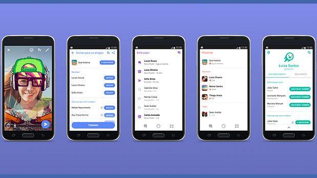 Facebook quiere competir con Snapchat en mercados emergentes