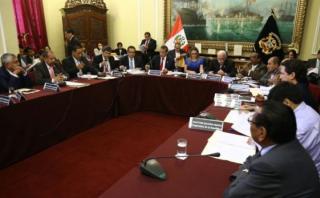 El momento tenso entre Humala, Donayre y Salaverry