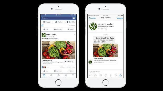 ¿Facebook Messenger enviará anuncios patrocinados a usuarios?
