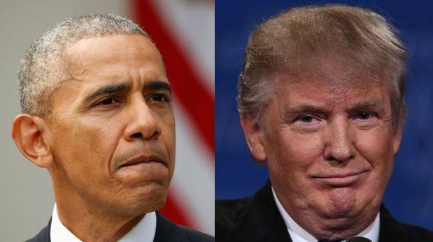 (video) Obama, satisfecho con visita de Trump