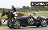 Fernando Alonso compitió contra un caballo en Argentina [VIDEO]