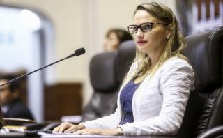 "Luciana León: ""Ollanta Humala ha sido bastante evasivo"""