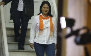 Keiko dice a fiscal que no manejó fondos de Fuerza Popular