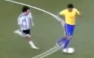 El día que Kaká probó ser más veloz y potente que Messi [VIDEO]