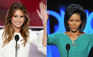 Melania Trump y Michelle Obama se conocieron en la Casa Blanca