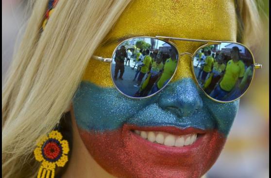 Colombia-Chile: belleza, color e ilusión en previa del partido