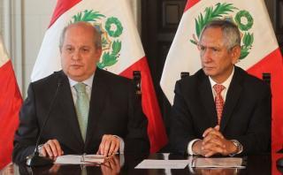 Ex ministros Cateriano y Cornejo en la mira de Fiscalización