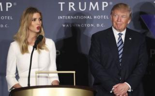 """¿Por qué la hija de Trump sería la """"verdadera"""" primera dama?"""