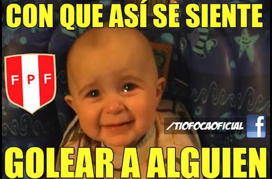 Perú vs. Paraguay: los memes que dejó la victoria blanquirroja