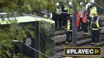 Tren se descarriló en Londres: 7 muertos y más de 50 heridos - Noticias de la parada