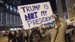 """""""¡No es mi presidente!"""": Ola de protestas contra Trump en EE.UU - Noticias de paul pinto"""