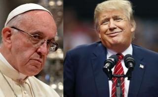 Al papa le preguntaron sobre Trump y esto fue lo que dijo