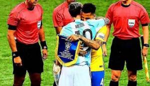 El mensaje de Dani Alves a su amigo Lionel Messi en Instagram