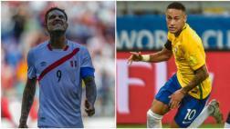 Perú vs. Brasil: los jugadores suspendidos de ambas selecciones
