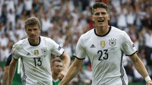 Alemania no tiene piedad de San Marino y sigue perfecto