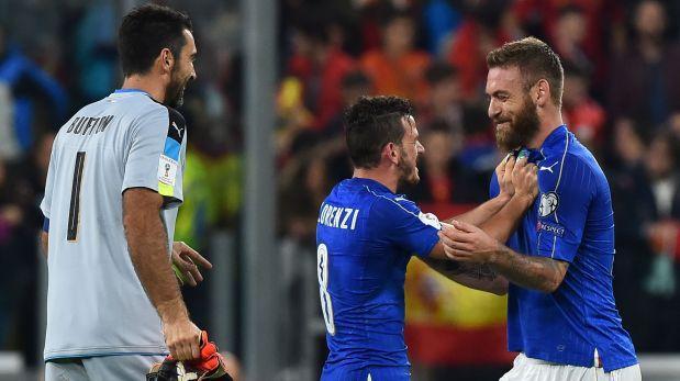 Italia gana a Liechtenstein 4-0 en la clasificación al Mundial 2018