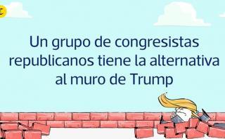 Donald Trump: Gestan un plan alternativo al muro con México