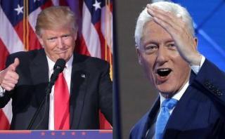 Donald Trump no descarta pedirle consejos a Bill Clinton
