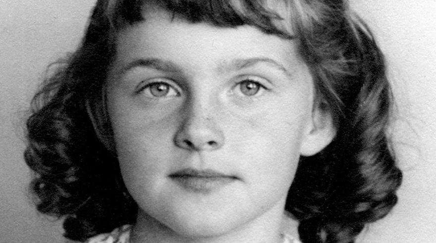Lucia cuando aún se apellidaba Brown, a los seis años, en Mullan, Idaho. Para entonces ya había vivido en cuatro estados diferentes. (Foto: Lucia Berlin Literary Estate)