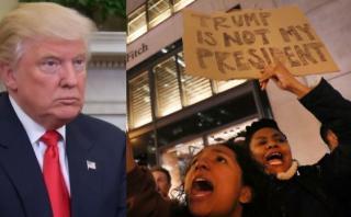 EE.UU.: Protestas contra Donald Trump dejan un herido de bala