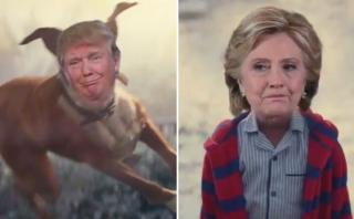 Facebook: divertido video se burla de la derrota de Clinton