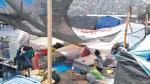 Tras ocho días Cantagallo se levanta entre plásticos y palos - Noticias de enrique peramas