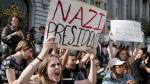 Racismo, grafitis y marchas tensan las calles de EE.UU. [FOTOS] - Noticias de racismo