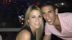 Esposa de Di María carga contra críticos del futbolista