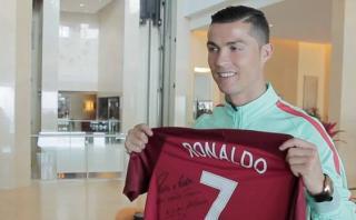 Cristiano Ronaldo: su gesto solidario con un jugador con cáncer