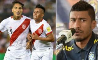 Selección: Paulinho se mostró alerta por Guerrero y Cueva