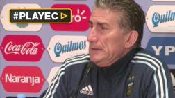 """Edgardo Bauza: """"Con Colombia vamos a ganar"""""""