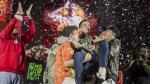Batalla de los gallos: Skone ganó tras imponerse a Jota [FOTOS] - Noticias de hip hop
