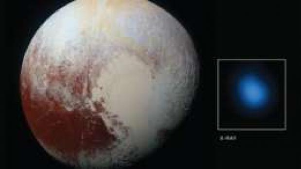 Los misteriosos rayos X que emite Plutón