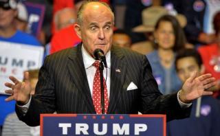Rudy Giuliani es el favorito de Trump para secretario de Estado