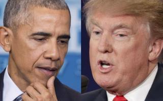 """Obama: """"No me siento responsable por lo que Trump dice o hace"""""""