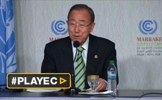 Ban Ki-moon espera que Trump atienda el calentamiento global