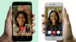 ¿Cómo hacer una videollamada por WhatsApp? - Noticias de celular con tres pantallas
