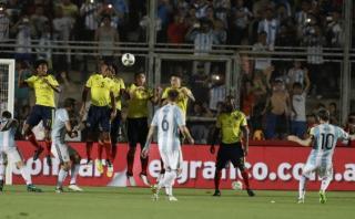 Lionel Messi anotó golazo a Colombia y lo celebró con furia
