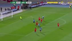 Gol de Edinson Cavani: silenció Chile con derechazo [VIDEO]