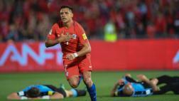 Chile revirtió marcador y ganó 3-1 a Uruguay en Santiago