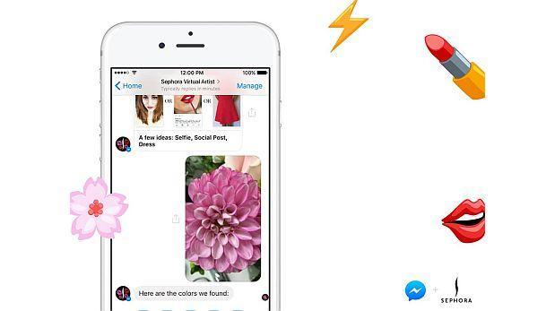 Facebook presentó 'bot' que maquilla los labios perfectamente