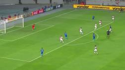 Gol de Gabriel Jesús: así le anotó a Perú en Estadio Nacional