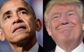 """Obama en Europa: """"Trump y yo no podríamos ser más distintos"""""""