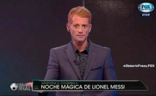 Liberman genera polémica por discutir con hermana de Leo Messi
