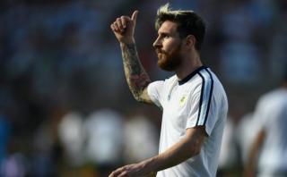 Lionel Messi: así preparó su golazo de tiro libre ante Colombia