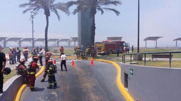 Incendio en Larcomar: fiscalía confirma cuatro muertos